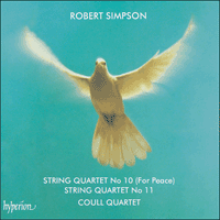 Cover of CDA66225 - Simpson: String Quartets Nos 10 & 11