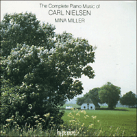 Cover of CDA66231/2 - Nielsen: Complete Piano Music