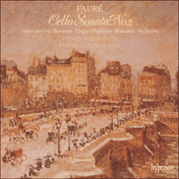 Cover of CDA66235 - Faur�: Cello Sonata No 2 & other works