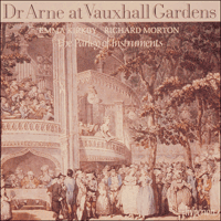 Cover of CDA66237 - Arne: Dr. Arne at Vauxhall Gardens