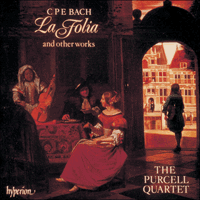 Cover of CDA66239 - Bach (CPE): La Folia & other works