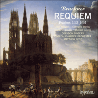 Cover of CDA66245 - Bruckner: Requiem & other sacred music