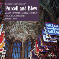 Cover of CDA66253 - Purcell & Blow: Countertenor duets