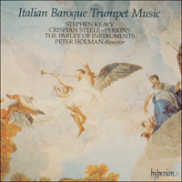 Cover of CDA66255 - Italian Baroque Trumpet Music