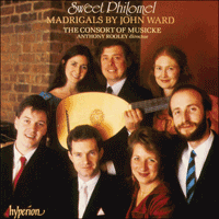 Cover of CDA66256 - Ward: Sweet Philomel & other madrigals