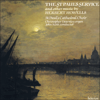 Cover of CDA66260 - Howells: St Paul's Service & other works