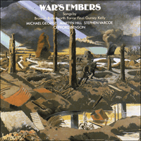 Cover of CDA66261/2 - War's Embers
