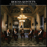 Cover of CDA66268 - Reicha: Wind Quintets, Vol. 1