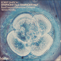 Cover of CDA66280 - Simpson: Symphonies Nos 6 & 7