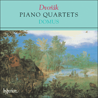 Cover of CDA66287 - Dvor�k: Piano Quartets