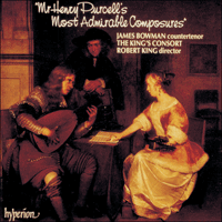 Cover of CDA66288 - Purcell: Mr Henry Purcell's Most Admirable Composures