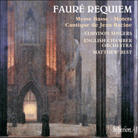 Cover of CDA66292 - Faur�: Requiem & other sacred music