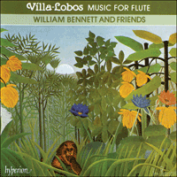 Cover of CDA66295 - Villa-Lobos: Music for flute