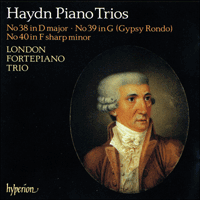 Cover of CDA66297 - Haydn: Piano Trios Nos 38-40