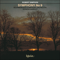 Cover of CDA66299 - Simpson: Symphony No 9