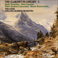 Cover of CDA66300 - The Clarinet in Concert, Vol. 2