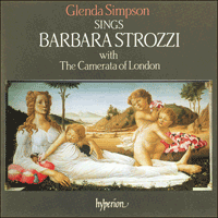 Cover of CDA66303 - Strozzi: Songs