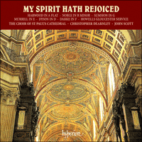 Cover of CDA66305 - My spirit hath rejoiced
