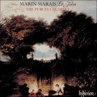Cover of CDA66310 - Marais: La Folia & other works