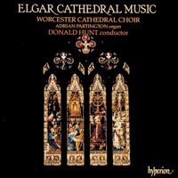 Cover of CDA66313 - Elgar: Cathedral Music