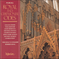 Cover of CDA66314 - Purcell: Odes, Vol. 1 � Royal and Ceremonial Odes