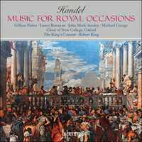 CDA66315 - Handel: Music for royal occasions
