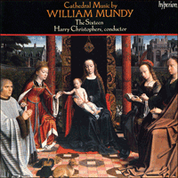 Cover of CDA66319 - Mundy: Sacred Choral Music