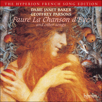 Cover of CDA66320 - Faur�: La chanson d'�ve & other songs