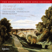 Cover of CDA66323 - Duparc: Songs