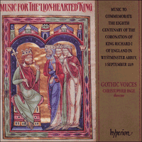 Cover of CDA66336 - Music for the Lion-Hearted King