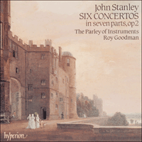 CDA66338 - Stanley: Six Concertos in seven parts Op 2