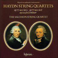 Cover of CDA66348 - Haydn: String Quartets Opp 77 & 103
