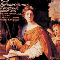 Cover of CDA66349 - Purcell: Hail! bright Cecilia & Who can from joy?