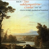 Cover of CDA66351/4 - Bach: The Well-tempered Clavier