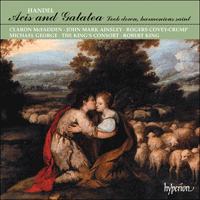 Cover of CDA66361/2 - Handel: Acis and Galatea