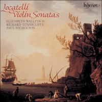 Cover of CDA66363 - Locatelli: Violin Sonatas