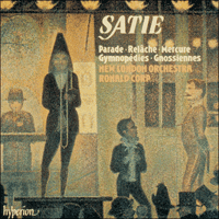 Cover of CDA66365 - Satie: Parade & other works