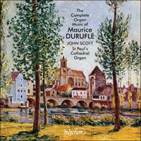 CDA66368 - Durufl�: The Complete Organ Music
