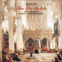 Cover of CDA66369 - Bach: Motets
