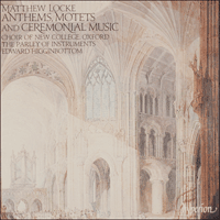 Cover of CDA66373 - Locke: Anthems, Motets and Ceremonial Music