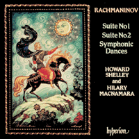 Cover of CDA66375 - Rachmaninov: Music for two pianos