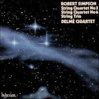 Cover of CDA66376 - Simpson: String Quartets Nos 3 & 6 and String Trio