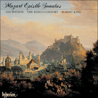 Cover of CDA66377 - Mozart: Epistle Sonatas