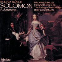 Cover of CDA66378 - Boyce: Solomon
