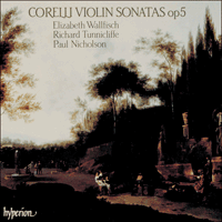 Cover of CDA66381/2 - Corelli: Violin Sonatas Op 5