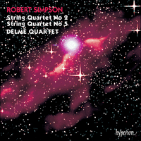 Cover of CDA66386 - Simpson: String Quartets Nos 2 & 5