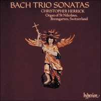Cover of CDA66390 - Bach: Trio Sonatas