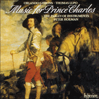 CDA66395 - Gibbons & Lupo: Music for Prince Charles