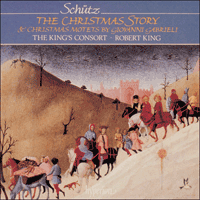 CDA66398 - Sch�tz: The Christmas Story; Gabrieli: Motets
