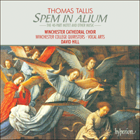Cover of CDA66400 - Tallis: Spem in alium & other choral works